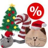 ★☆★ Weihnachtsspielset 4-teilig mit Catnip und Baldrian ★☆★ - Spielset 4-teilig