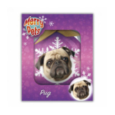 Merry Pets Christbaumkugel Hund - Mops